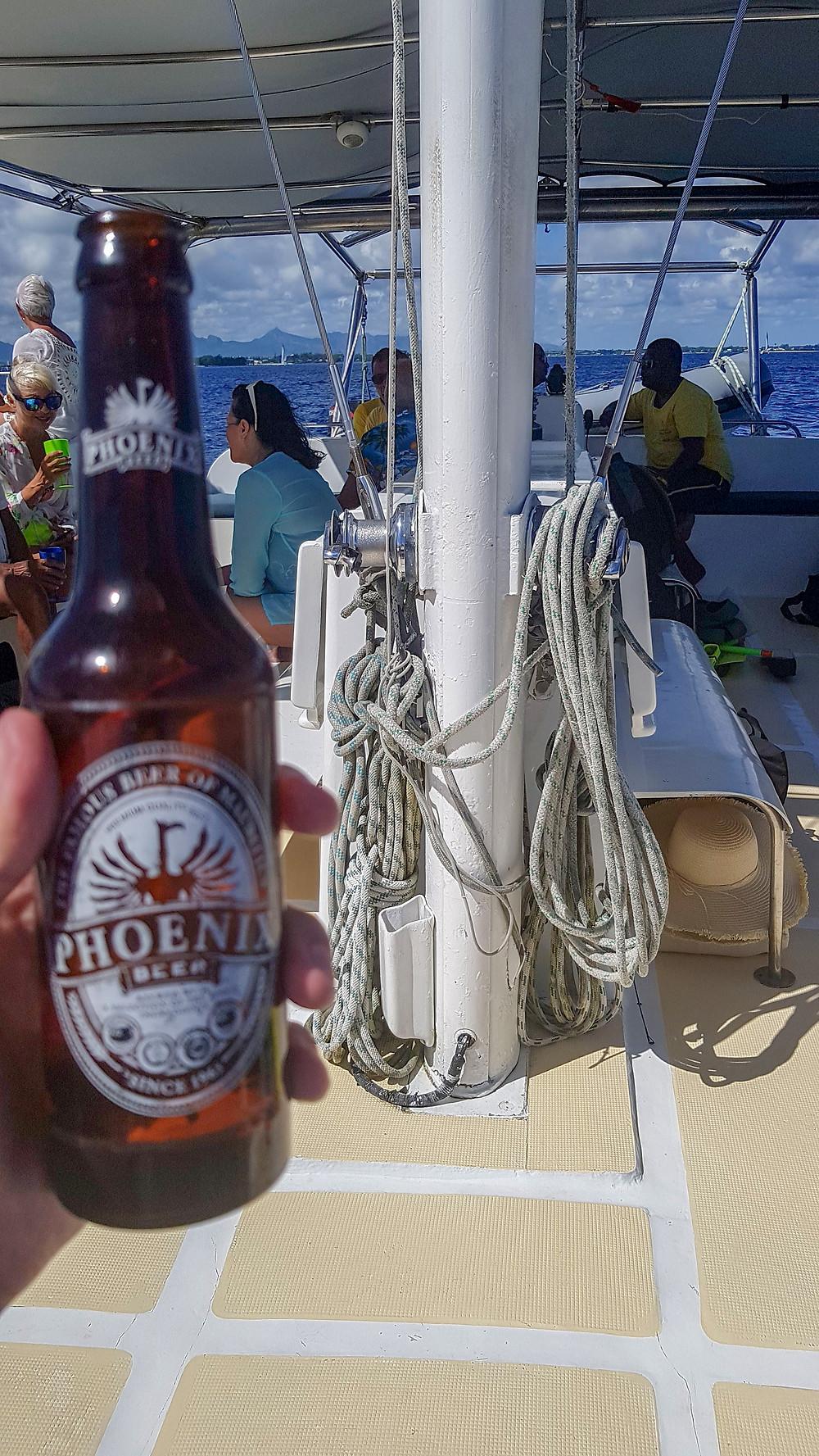 Phoenix beer, Mauritius