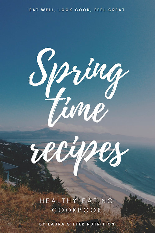 Spring time recipes