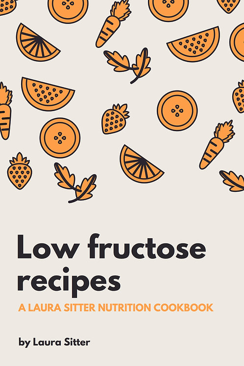 Recipes for a Low Fructose diet