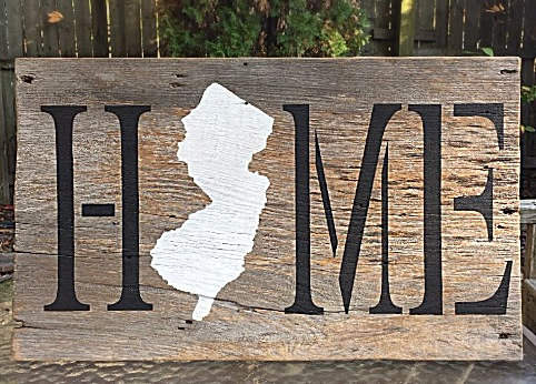 Reclaimed Wood Home Sign Reclaimed Home Reclaimed Barnwood Sign Reclaimed Wood Home Decor