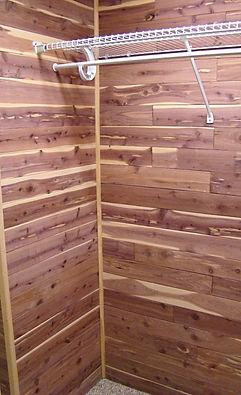 Custom Cedar Closet