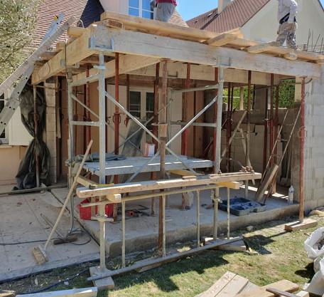 Extension en construction