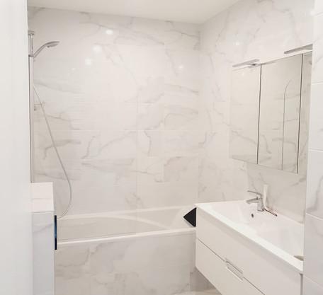 Salle de bains APRES 1