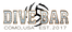 Dive Bar with black ball black lettering 11 by 5 with 300 DPI Transparent background saved as PNG.pn