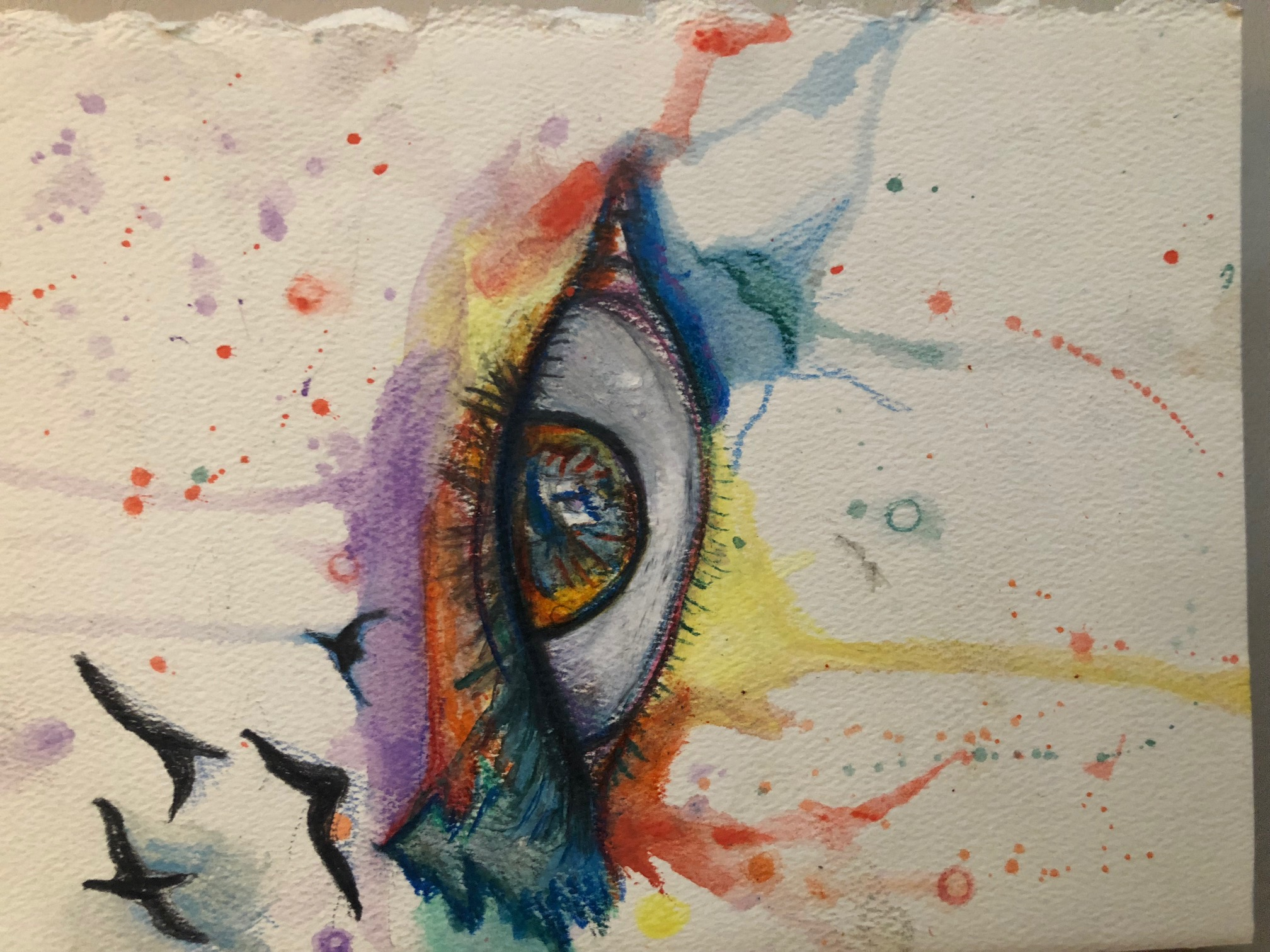 Self Portrait Eye