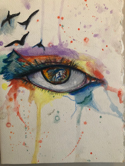 Self Portrait Eye