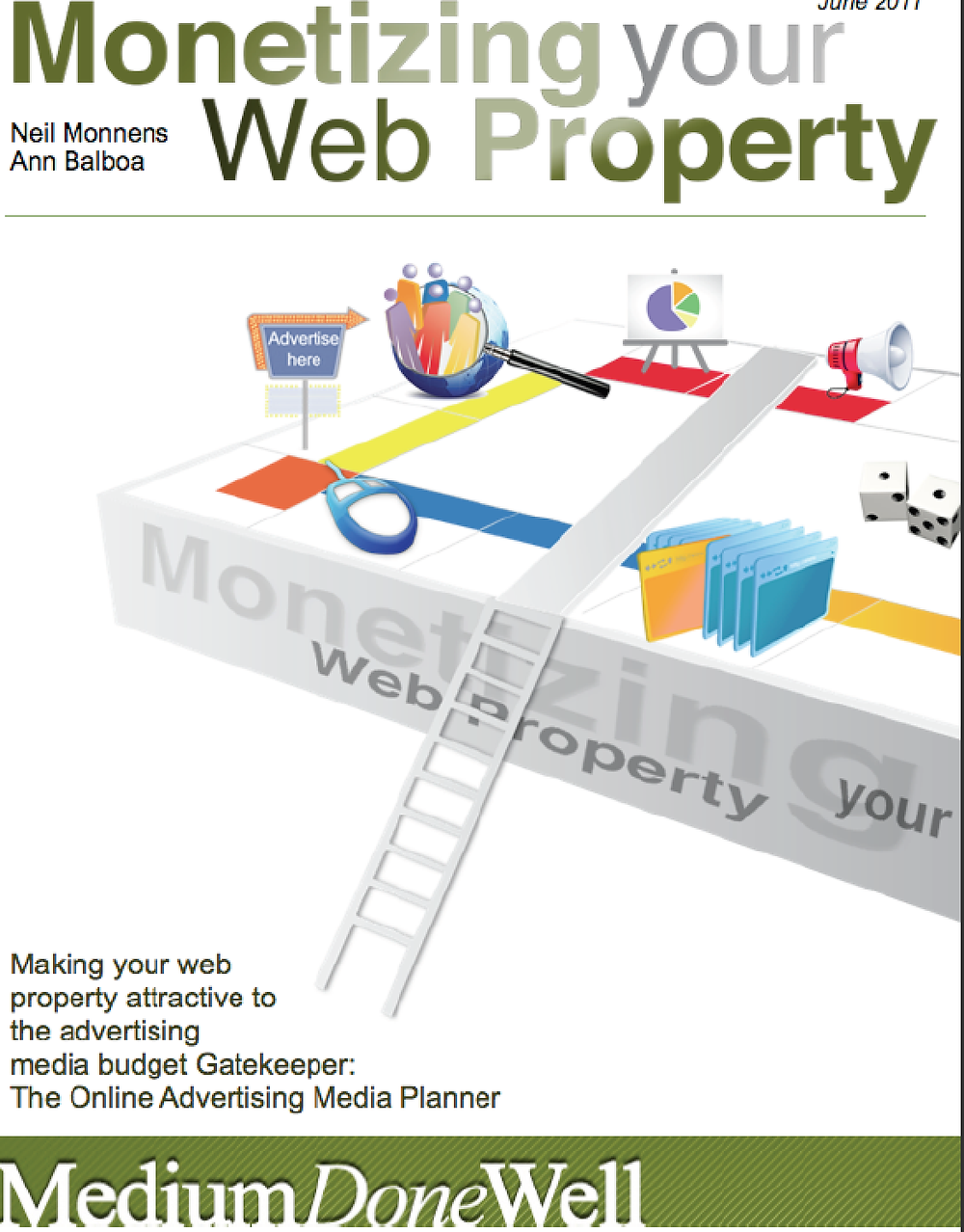 Monetizing your Web Property Ebook