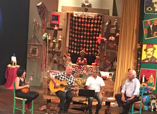 Gravação do programa Sr Brasil.
