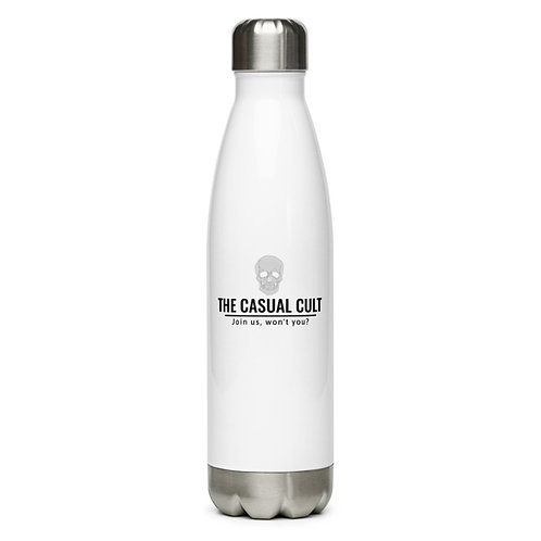 The Casual Cult Stainless Steel Water Bottle