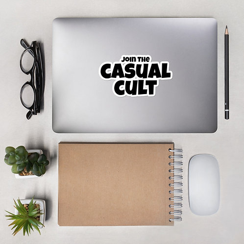 Join The Casual Cult Stickers