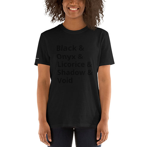 Shades of Black Shirt