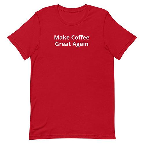 Make Coffee Great Again Shirt