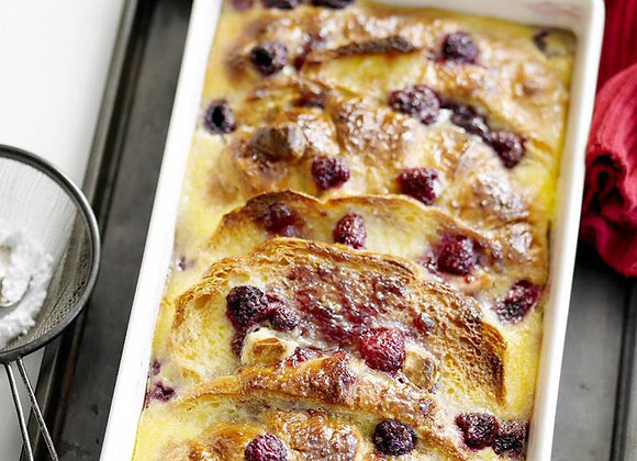 Raspberry Pudding