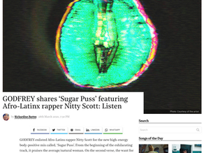 GODFREY shares 'Sugar Puss' featuring Afro-Latinx rapper Nitty Scott: