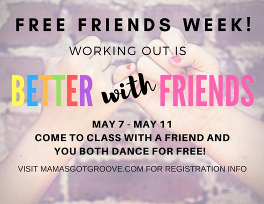 free friends week promo image