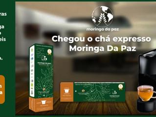 Chegou o primeiro chá expresso de moringa do mundo