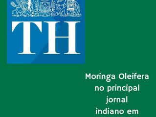Moringa Oleifera no principal jornal indiano