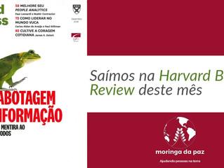 Moringa da Paz na Harvard Business Review