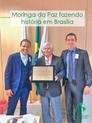 Moringa da Paz fazendo história em Brasília