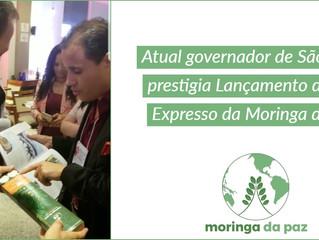 João Dória Jr. prestigia o lançamento do primeiro chá expresso de moringa do mundo