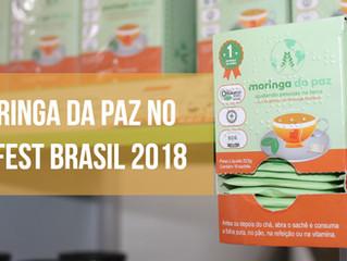 Moringa da Paz no Vegfest Brasil 2018