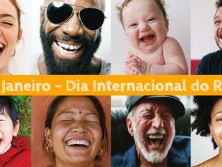 18 de Janeiro é o Dia Internacional do Riso