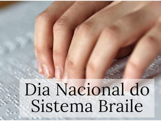 8 de abril: Dia Nacional do Sistema Braile