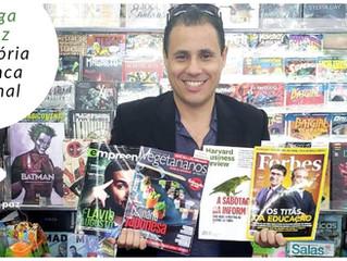Moringa da Paz faz história em Banca de Jornal