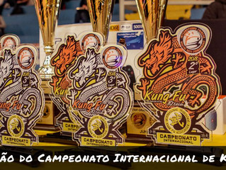 Confira o que rolou na 10ª edição do Campeonato Internacional de Kung Fu