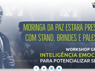 Moringa da Paz em Workshop gratuito sobre Inteligência Emocional