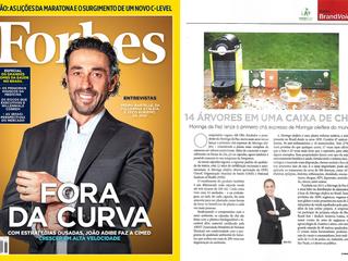 Moringa da Paz na nova edição da Forbes Brasil