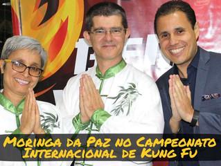 Moringa da Paz marca presença no Campeonato Internacional de Kung Fu