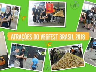 Atrações da Feira Vegana do Vegfest Brasil 2018