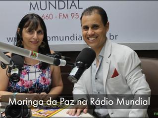 Moringa da Paz participa de Programa na Rádio Mundial