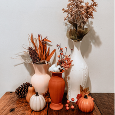 DIY Faux Clay Vases