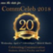 CommCeleb 2018 - 20th Anniversary