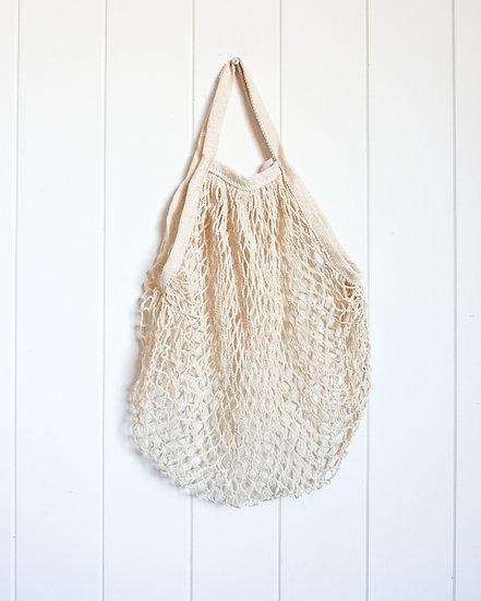 Bag - String reusable carry shoulder bag - Natural (32x38x115cm)