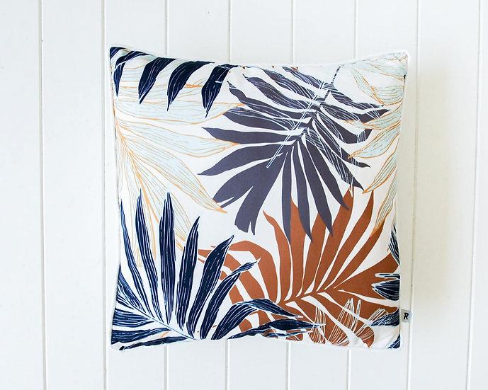 Outdoor cushion - Autumn palm fronds light (45x45cm)
