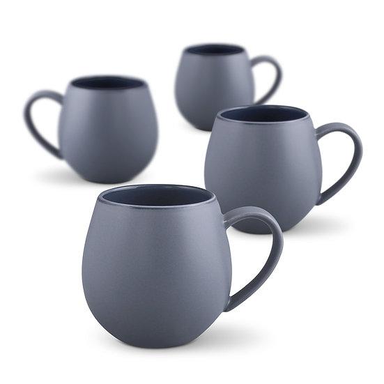 Hug Me Mug 4pk - Matte Grey