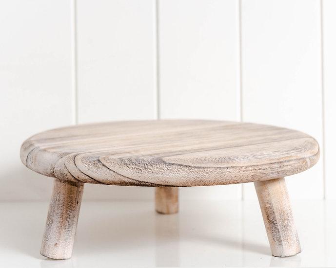 Tiki Whitewash Timber Riser