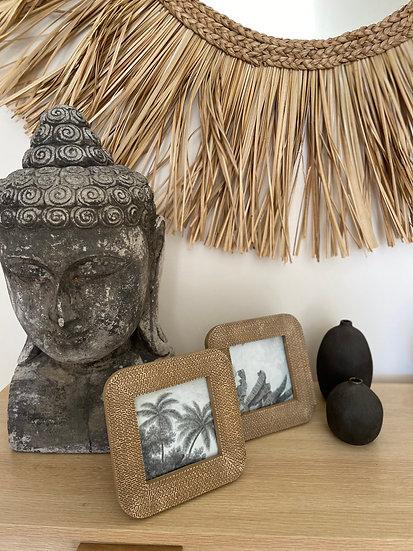Noosa Photo frame - natural small (15x15cm)