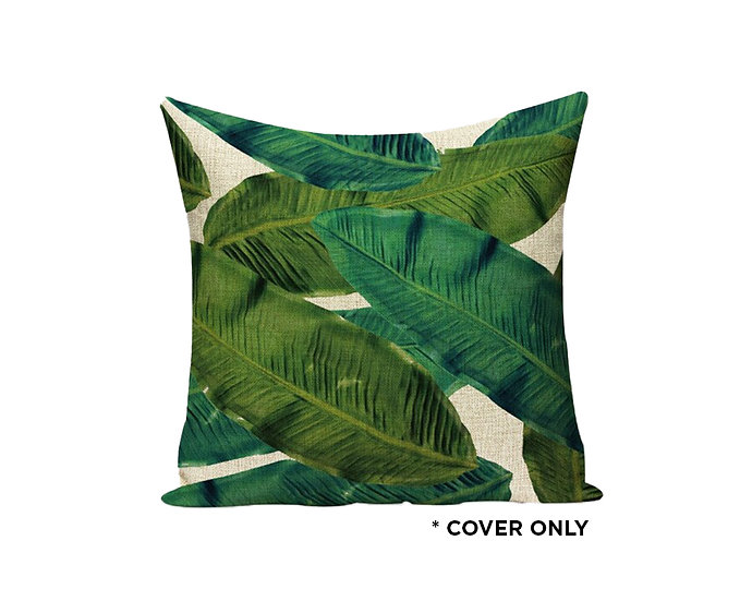 Kinabalu Jungle Palms - Indoor cushion COVER ONLY -  (45x45cm)