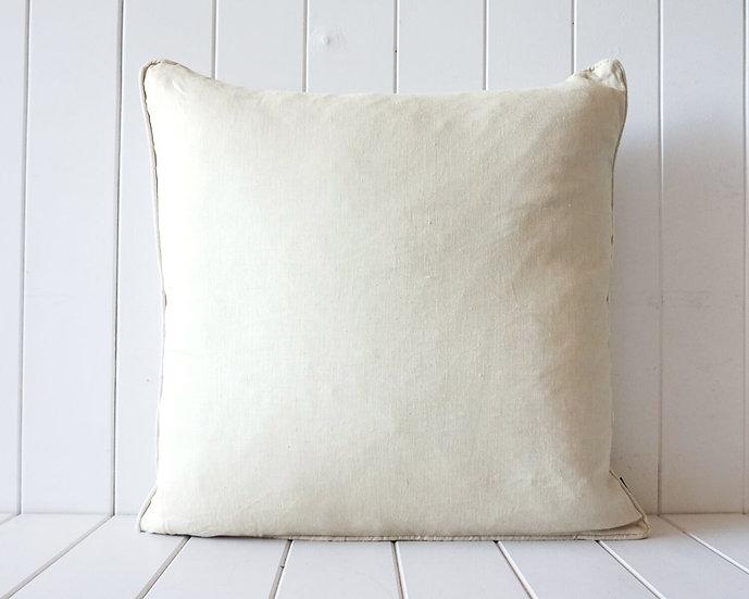 Sandstone Linen Square Cushion