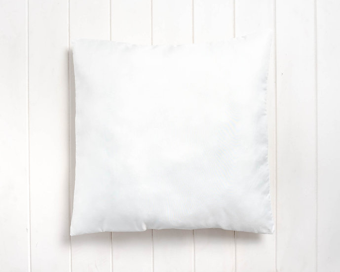 Cushion insert -White poly filled - Heavy cover (45x45cm)