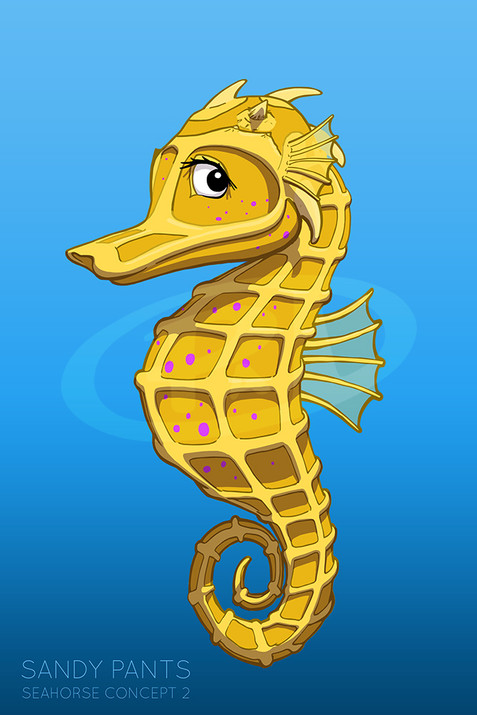 Seahorse - Character Concept