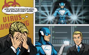 Virus Warning Comic Strip