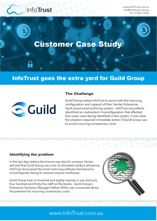 InfoTrust - Case Study