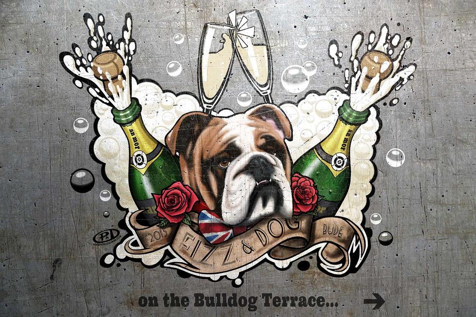 Fizz n Dog Mural