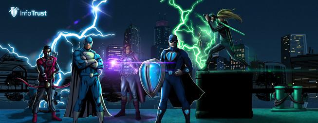 InfoTrust Superheroes