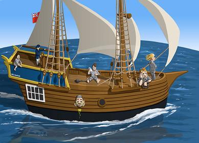 First Fleet Ship
